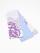 半巾帯0134-01本麻(メルティング・白×水色)全通