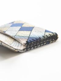カードケース 市松モザイク (ブルー)