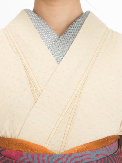 半衿 ホットフィックス 薄グレー(ガンメタケシ×銀ケシ)