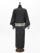 メンズデニム6.5OZ 折れストライプ�A(BK×金茶)