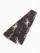 織角帯0167-08 麻の葉柄(深紫系)