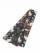 織角帯0233-01 スプレーカラー(茶×黒)