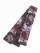 織角帯0233-02 スプレーカラー(赤×グレー)