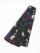 織角帯0233-03 スプレーカラー(紫×黒)