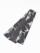 織角帯0167-10 麻の葉柄(カーキ系)