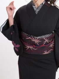 OJ18-23-01帯締め 市松小田巻・赤×紺