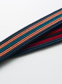 OJ14-03-07帯締め・ストライプ(紺×赤×黒)