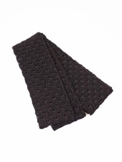和紙半巾帯 (ブラウン)