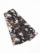半巾帯0167-01 スプレーカラー(茶×黒)