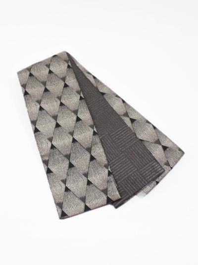 半巾帯0147-03 トライアングルスパーク(黒系)