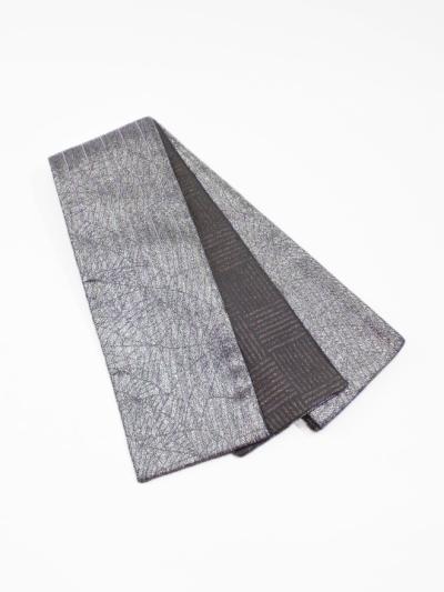 半巾帯0146-03 ネット(シルバー系)