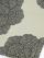 帯揚げ 半面銀通し 縞ボタン(ベージュ×黒)