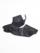 足袋 クラッシュレザー (黒)